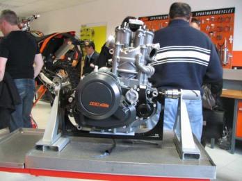 טכני, מנוע, סדנה, KTM, ק.ט.מ