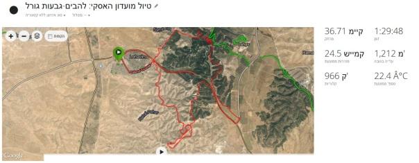 MAP HUSKEY TRIP 7 11 14